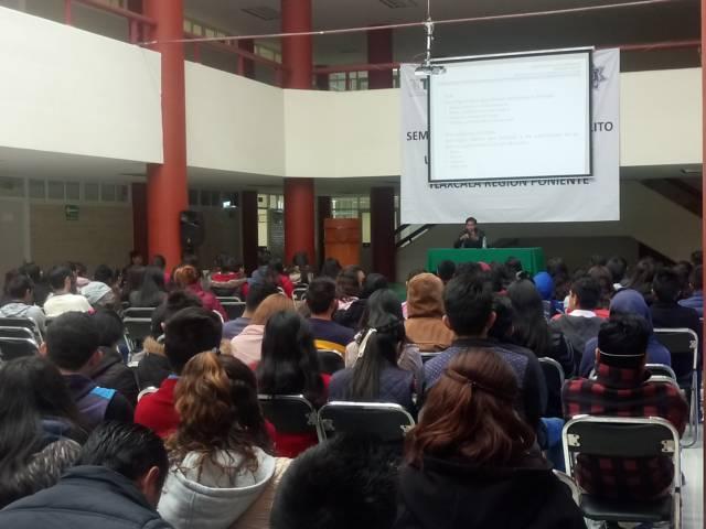 """Ofrece FGR plática a estudiantes sobre """"Delitos De Alto Impacto"""""""