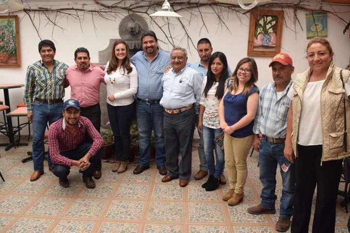 Promueven Tlaxco, Muñoz y Hueyotlipan vinculación con Chapingo en apoyo del campo