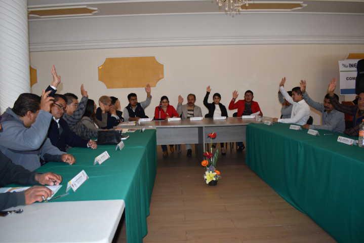 Cabildo de Zacatelco en la 4ta sesión aprueban puntos a favor de los pobladores