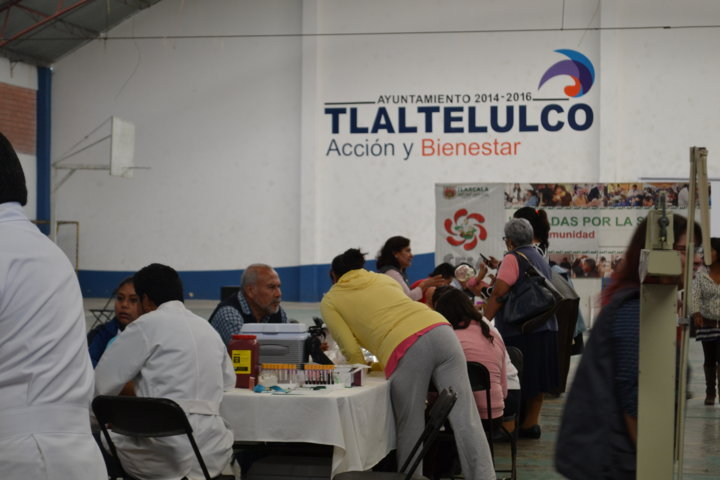 Regresan las Jornadas por la Salud a Tlaltelulco