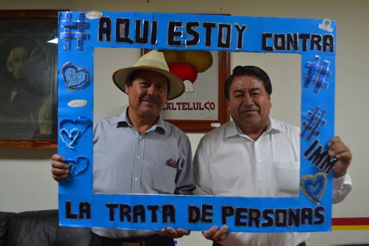 Queremos prevenir a la población para que no sean víctimas de la trata: alcalde