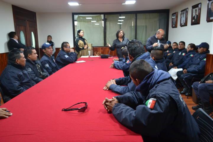 La CEDH capacitó a policías sobre la detención de personas sin violentar sus derechos