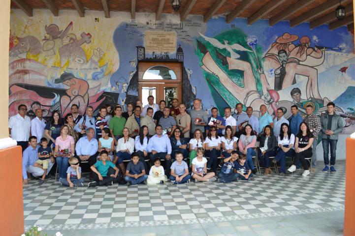 Agregados Militares, Navales y de la Fuerza Aérea en México llegaron a Calpulalpan