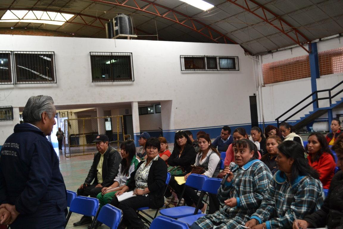 Realiza Protección Civil de Tlaltelulco Curso sobre medidas de seguridad en caso de Sismos