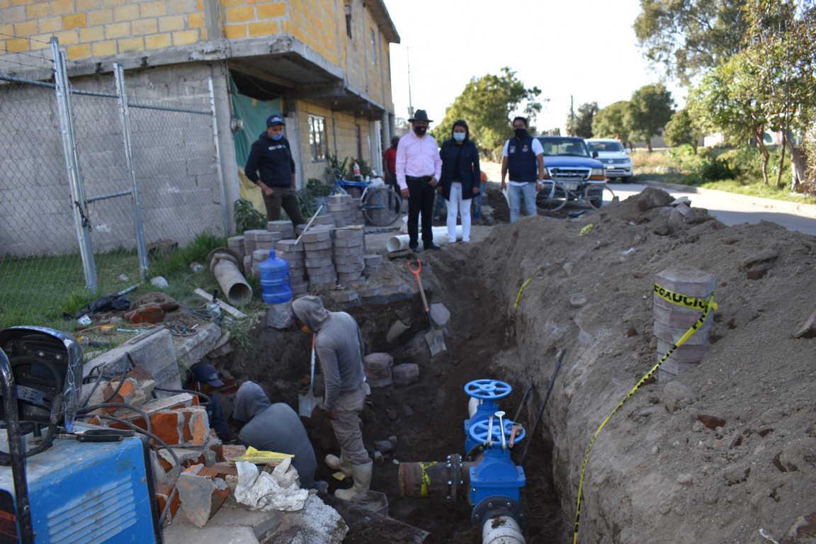 Las Obras no paran en Zacatelco