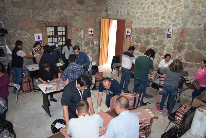 Comienza desincorporación y destrucción de documentación y material electoral