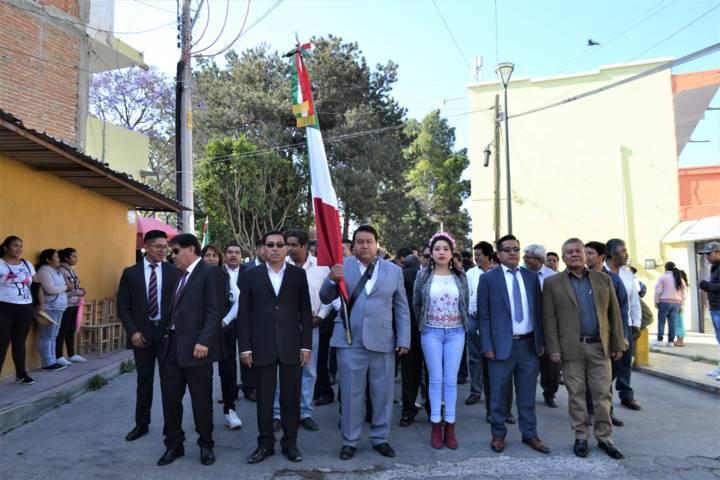 Alcalde encabeza el 213 aniversario del Natalicio de Juárez y desfile de la primavera