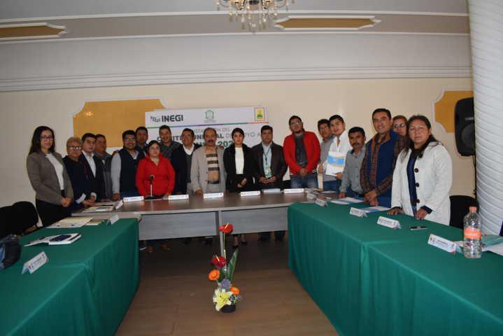 Zacatelco se alista con un comité para el censo 2020 que realizara el INEGI