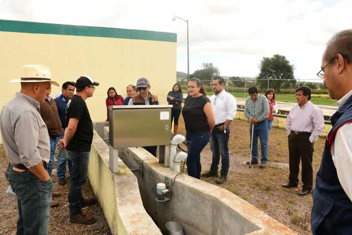 Tres niveles coordinarán trabajos en planta tratadora de aguas de Tlaxco