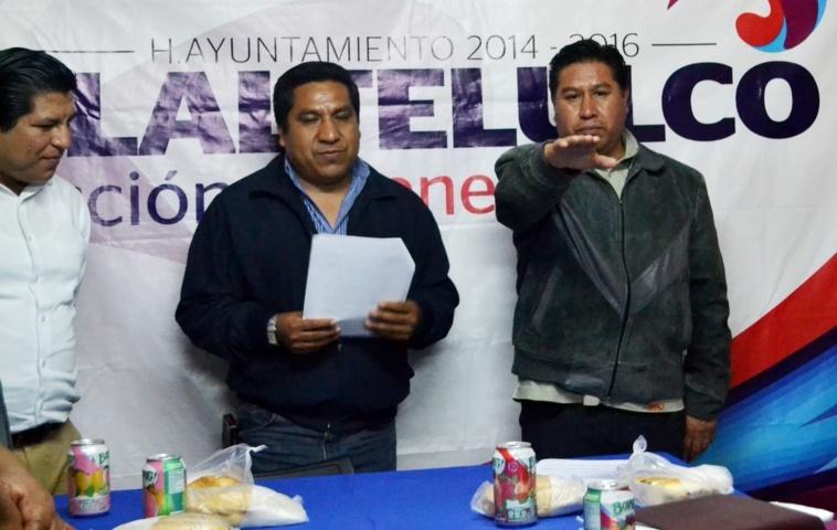 Aprueba cabildo de Tlaltelulco licencia de Miguel Ángel Polvo Rea al cargo de presidente municipal