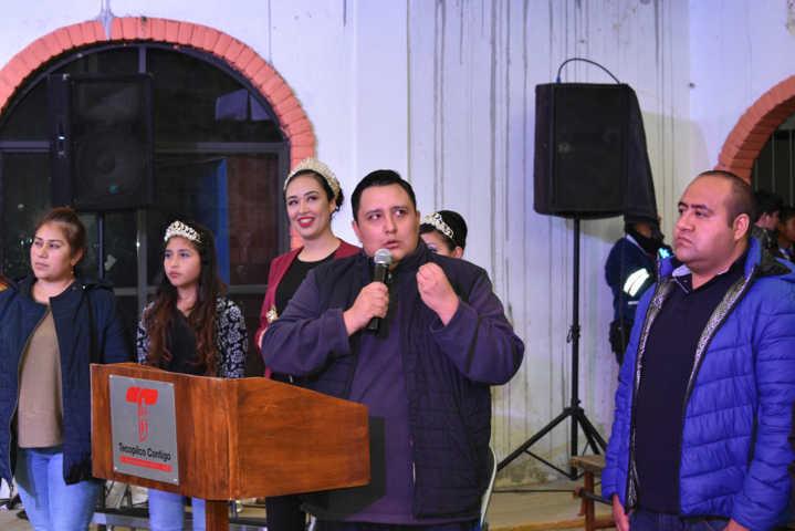 Alcalde puso en marcha la Feria del Mole Tecopilco 2019