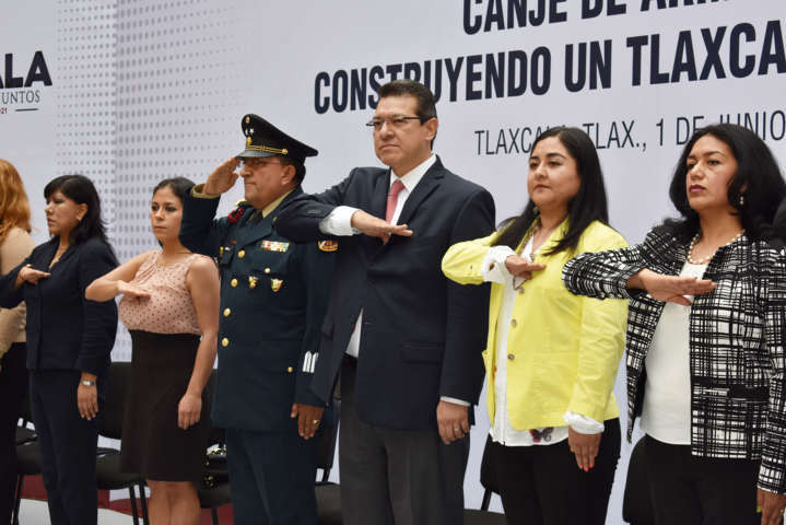 Se sumara Zacatelco al canje de armas: Orea Albarrán