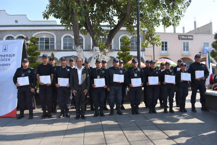 Policía de Zacatelco, capacitada para Activación de Protocolos de Emergencia