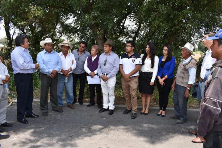 """Supervisa CEPC trabajos en la zanja """"la cadena"""""""