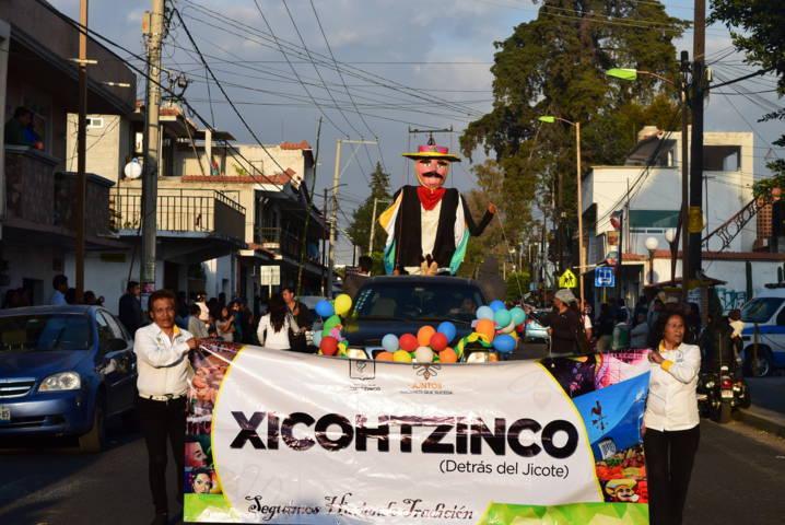 Alcalde promueve la tradición del chivarrudo en ferias del estado