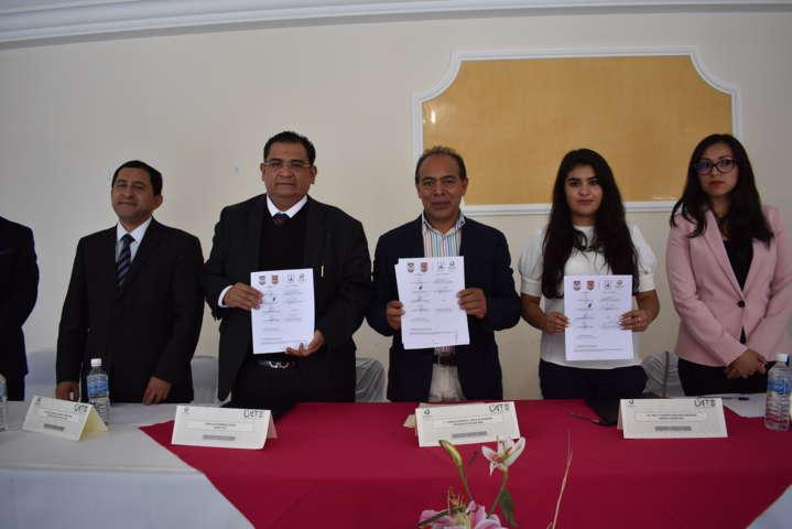 La UAT y el Ayuntamiento firman convenio para que alumnos realicen prácticas profesionales