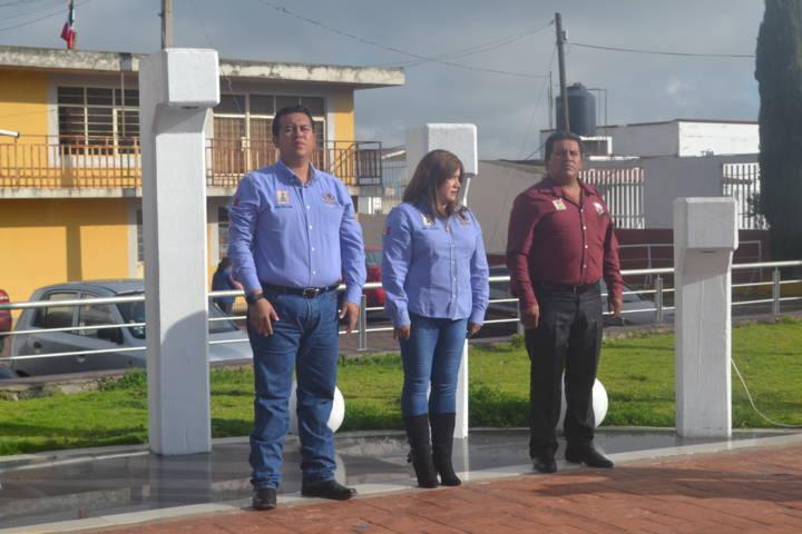 Encabezó Arturo Rivera 171 aniversario de la Gesta Heroica de Chapultepec