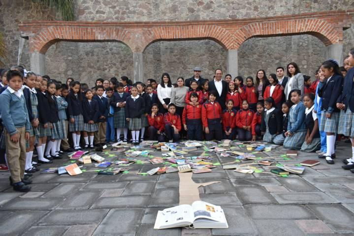 Reconoce Cultura Federal, exitosa campaña de Donación de Libros en Zacatelco