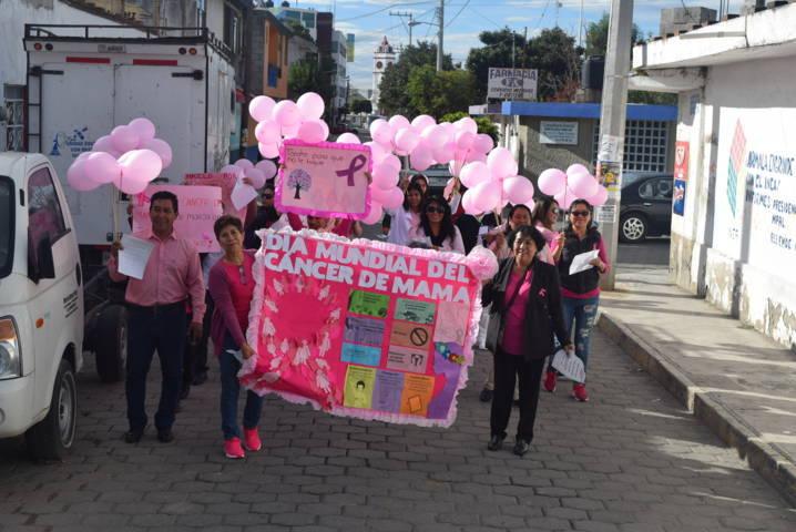 Ayuntamiento se suma al Día Mundial de la Lucha contra Cáncer de Mama