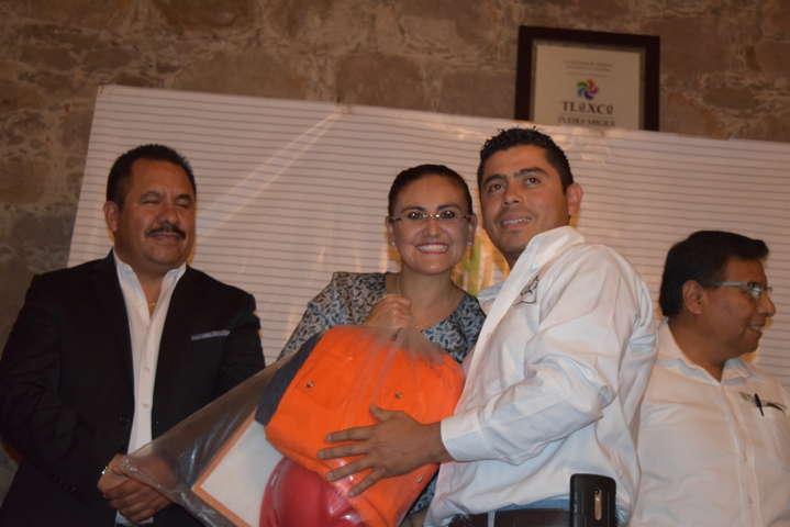 Crea Conafor y Gobierno Municipal brigada de sanidad forestal de Tlaxco