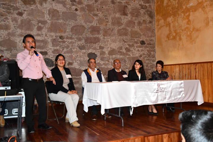 Comparte experiencias gobierno municipal y Cobat 09 de Tlaxco