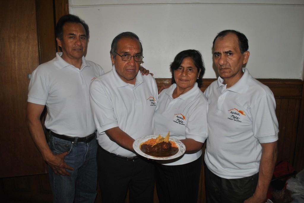 Hay ganadora del Concurso de Mole en NY, es de Tlaxcala