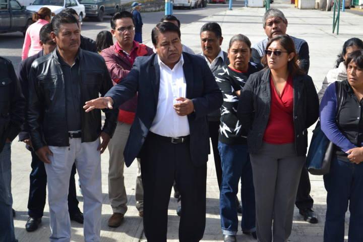 Alcalde mejora la imagen urbana de la cabecera municipal