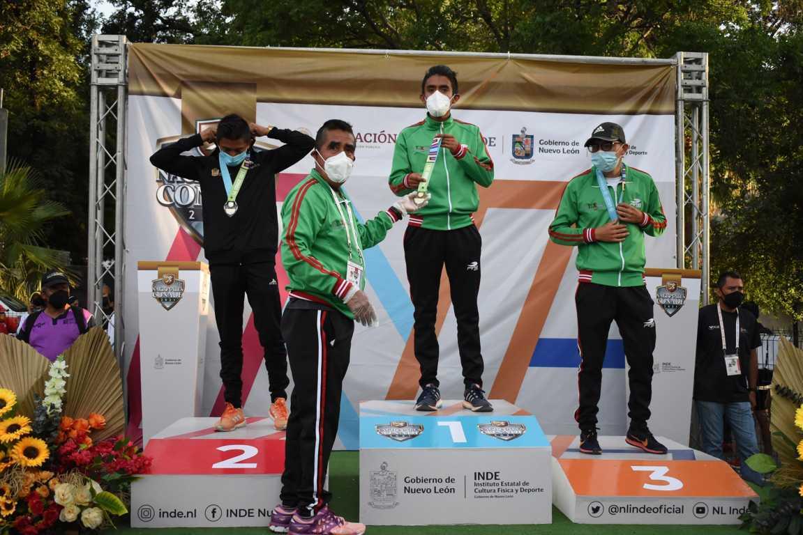 Un oro y dos bronces para Tlaxcala en el atletismo de Juegos Nacionales