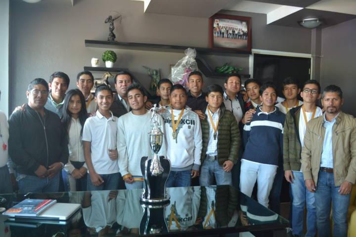 Rinde frutos equipo Tzompantepec 4ta división