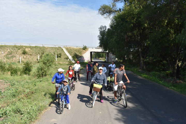 Ayuntamiento fomenta cuidemos nuestro planeta con un paseo ciclista