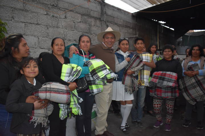 Orea Albarrán continua abrigando a los grupos vulnerables del municipio
