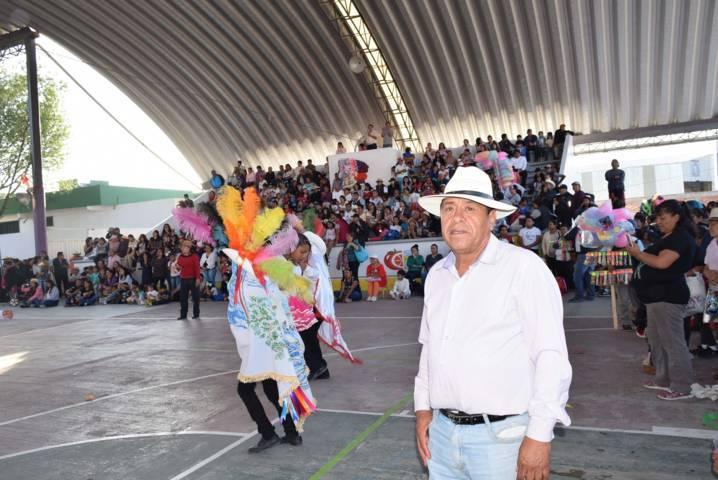 Se vive una gran fiesta de carnaval en Tezoquipan