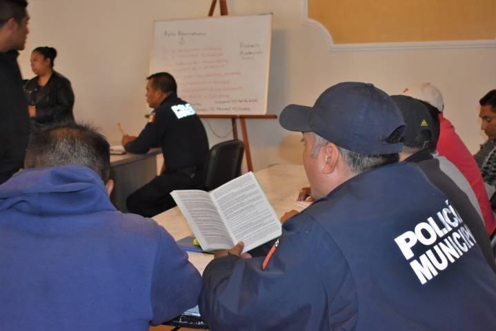 Imparten curso sobre responsabilidad de servidores públicos
