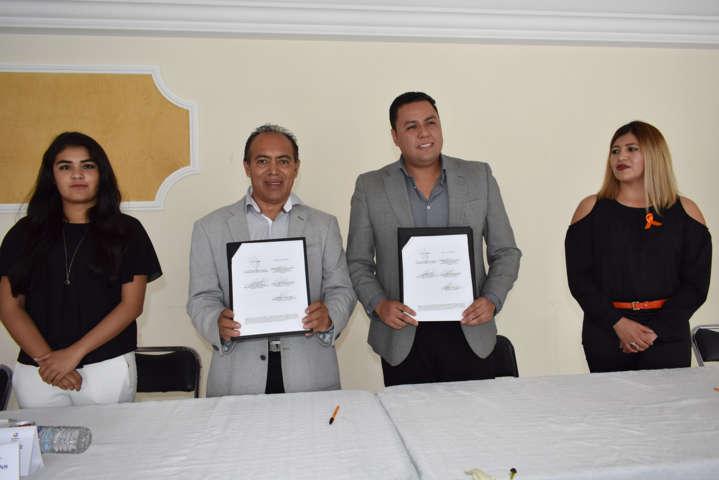 Signan convenio de colaboración Ayuntamiento y SEPUEDE