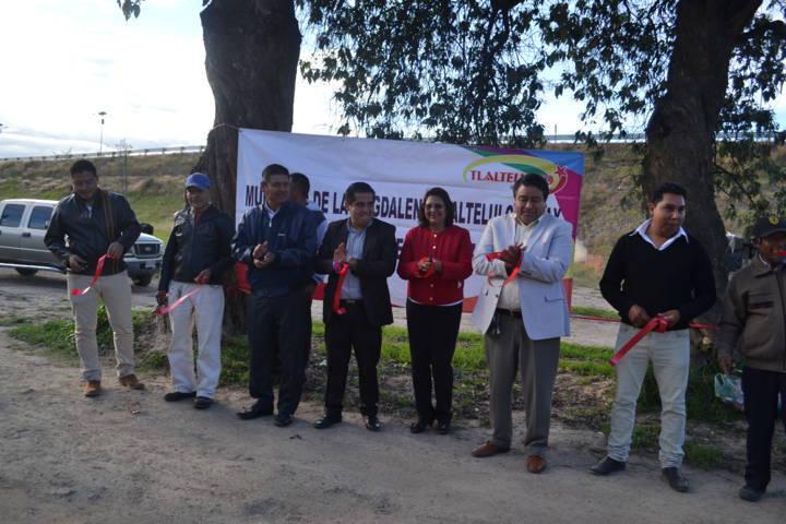 Presidente de Tlaltelulco inaugura ampliación de drenaje sanitario