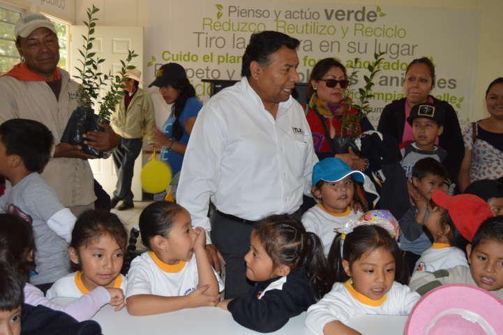 Fomenta CGE cuidado al medio ambiente en infantes tlaxcaltecas