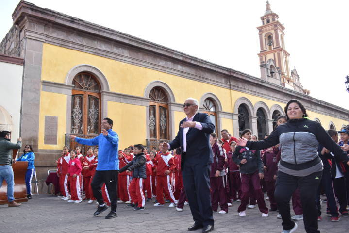 Inaugura Idet la Semana Nacional de la Cultura Física y el Deporte