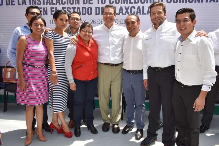 Zacatelco será beneficiado con un comedor comunitario