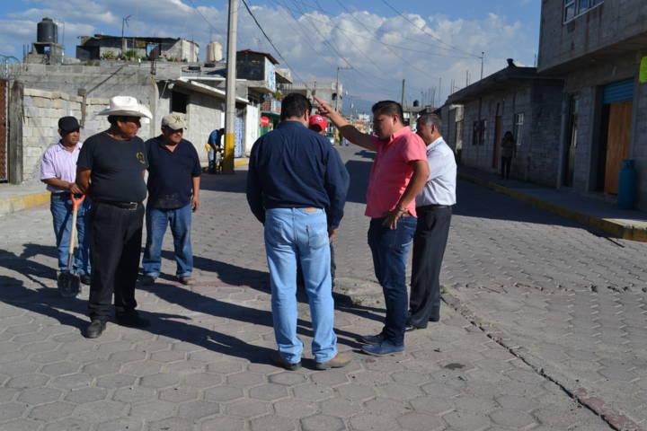 En Tlaltelulco el trabajo se demuestra con hechos: Pluma Morales