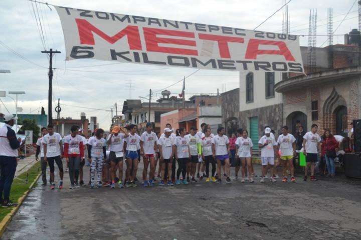 Ayuntamiento llevó a cabo la 2da carrera conmemorativa al Mes Patrio