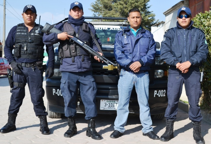 En marcha operativo de seguridad navideño en Tlaltelulco