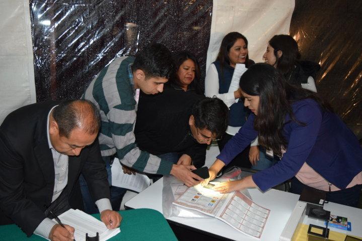 Efectúa ITE verificación de medidas de segurida de boletas de elección local