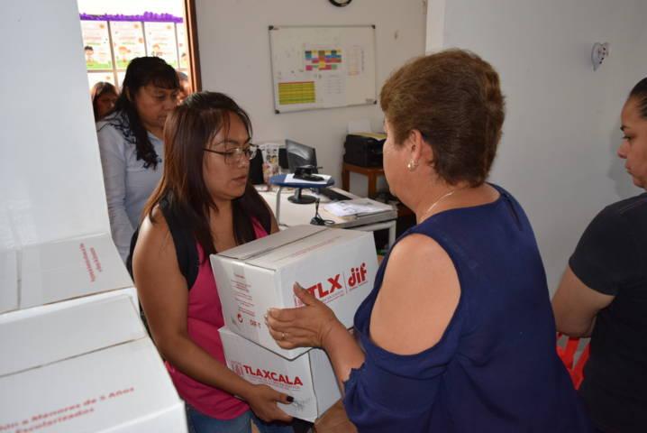 El DIF municipal mejora la alimentación de 490 familias con despensas