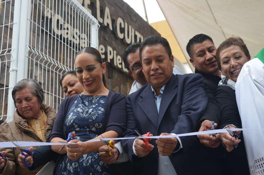 Inauguró ADF  Casa de la Cultura de Tetlanohcan