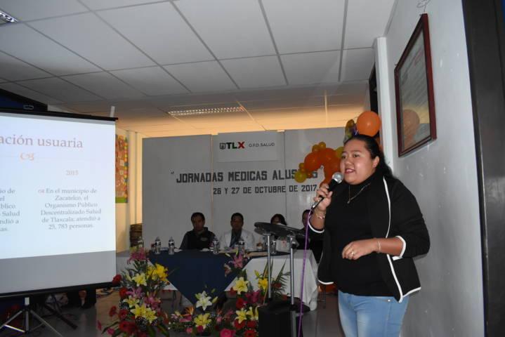 Festejan el 13º aniversario del hospital comunitario en Zacatelco