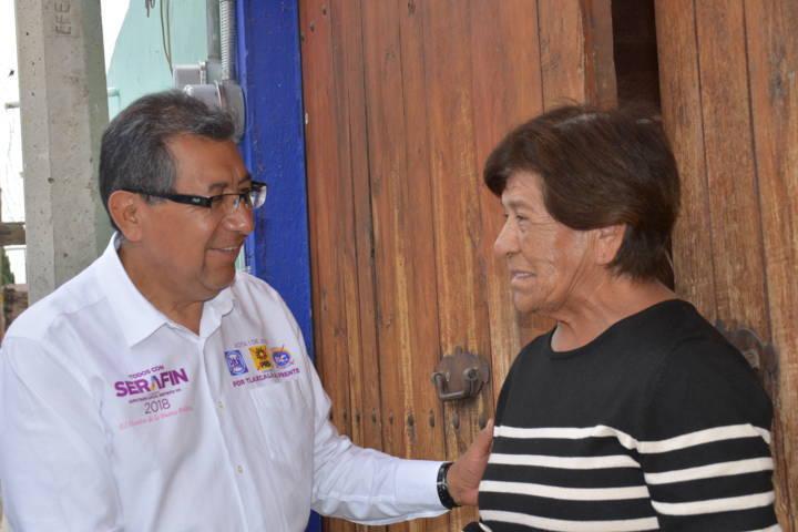 La buena política ya es nuestra, aseguran a Serafín Ortiz en Ixtulco