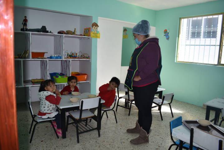 Inauguran estancia infantil en San Lucas Tecopilco