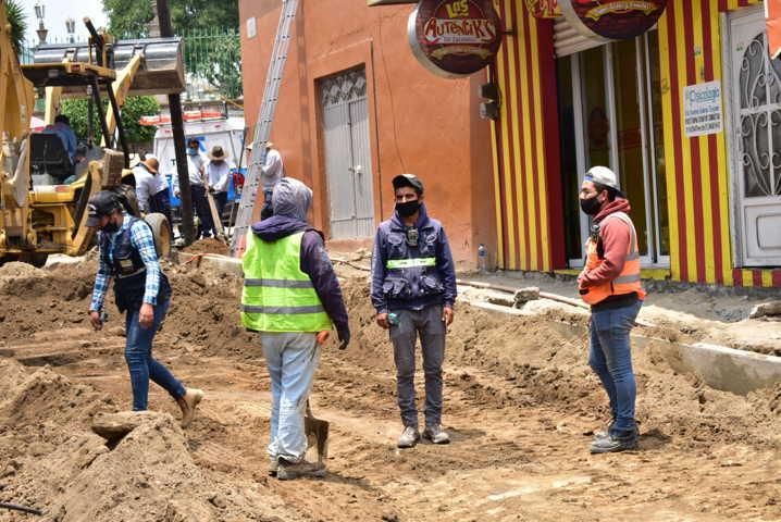 Se generan más de 800 empleos directa e indirectamente por obras en Zacatelco