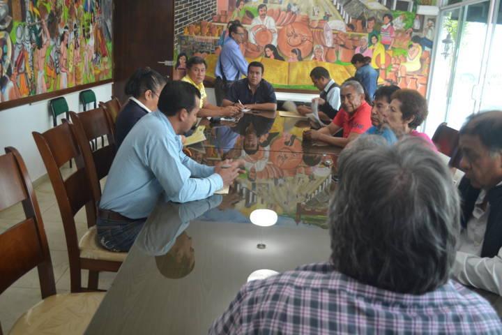 Alcalde preside mesas de trabajo con los comités vecinal de Girasoles