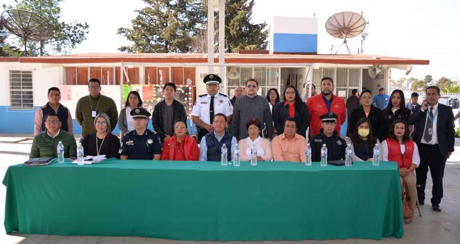 Inauguran Jornada de Prevención del Delito en Nanacamilpa